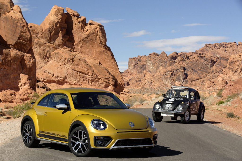 The new Volkswagen Beetle Dune and Baja Racer