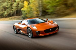 Jaguar C-X75 from SPECTRE