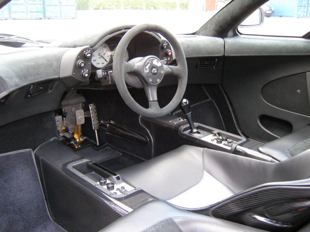 McLaren F1 cockpit - credit MSO Heritage