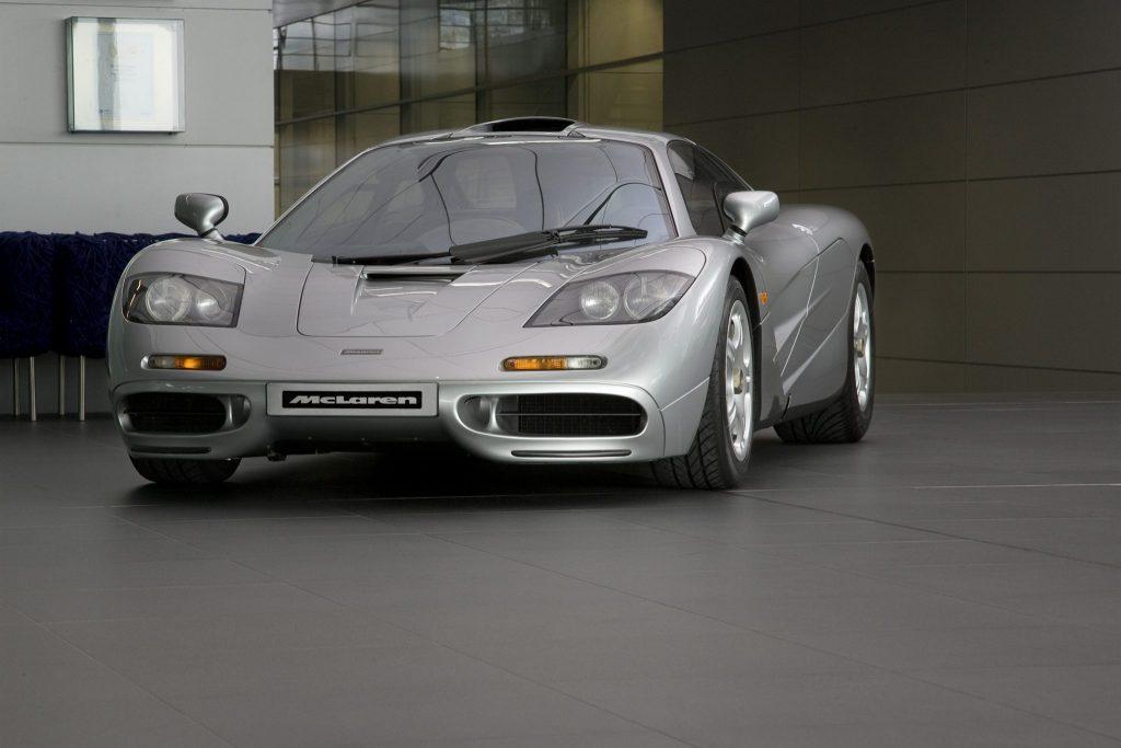 McLaren F1 front - credit MSO Heritage