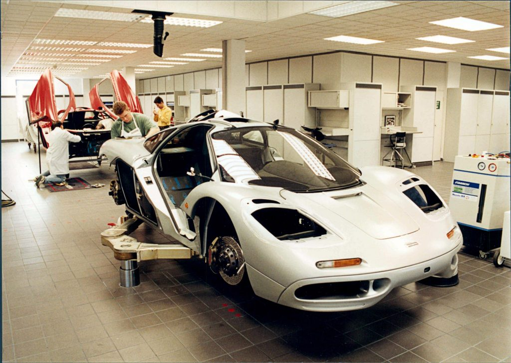 McLaren F1 production - credit MSO Heritage