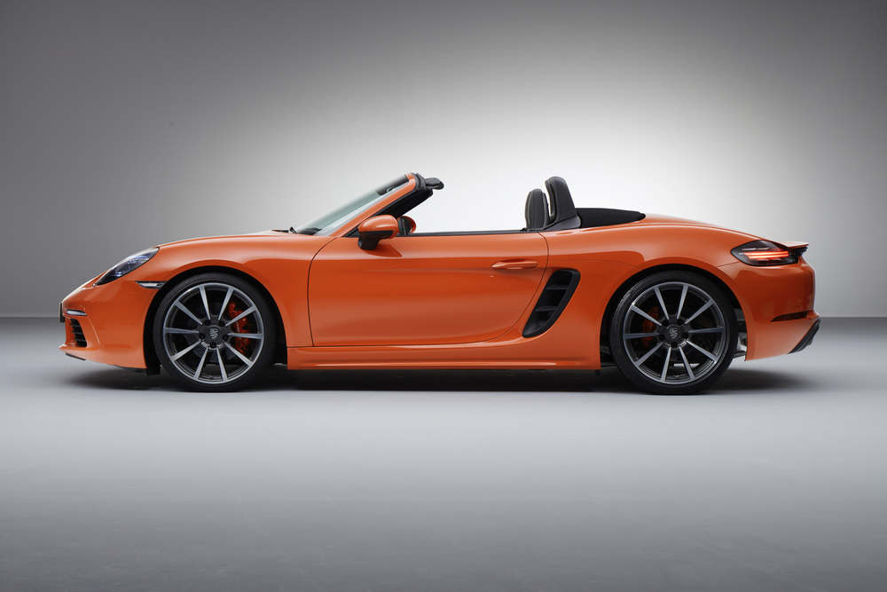 The new Porsche 718 Boxster