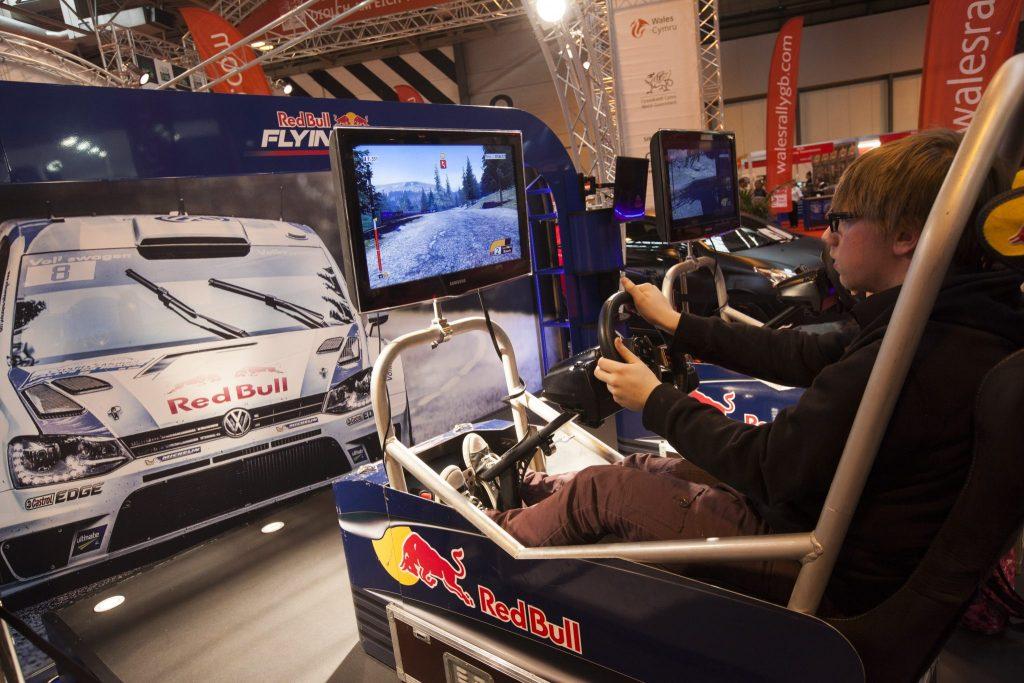 Simulators at Autosport International