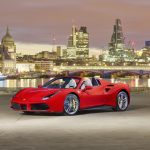 Ferrari 488 Spider Launched In London To Ferrari Clients And VIP's