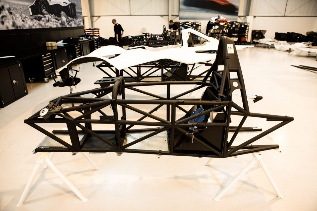 BAC Mono With New Chassis