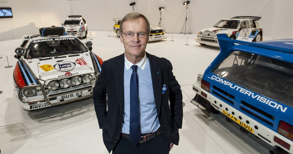 Ari Vatanen and the Group B rally display
