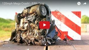 Is 120mph Crash In A Small Modern Car Safer Than an Old Large Car???