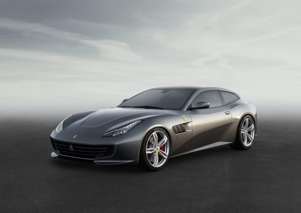 The Ferrari GTC4Lusso Debuts At The Geneva Show