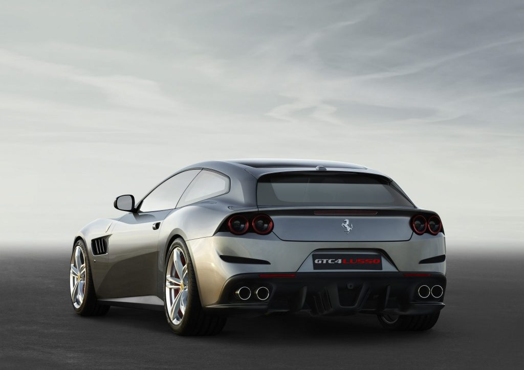 The Ferrari GTC4Lusso Debuts At The Geneva Show