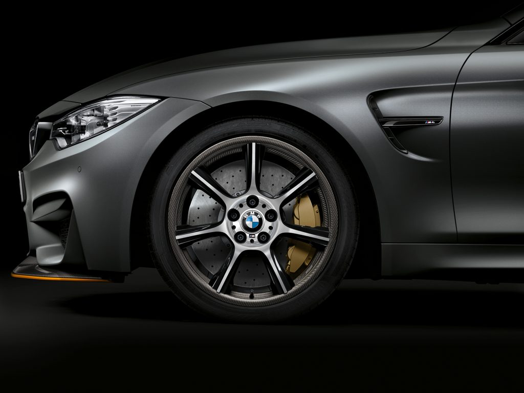 Unique M Carbon Compound wheels for the BMW M4 GTS