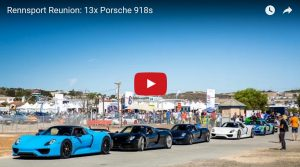 Laguna Seca Is Mobbed By Porsche 918s