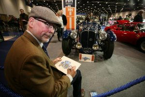 Turning Back The Clock With Classic Cars And Classic Clothes