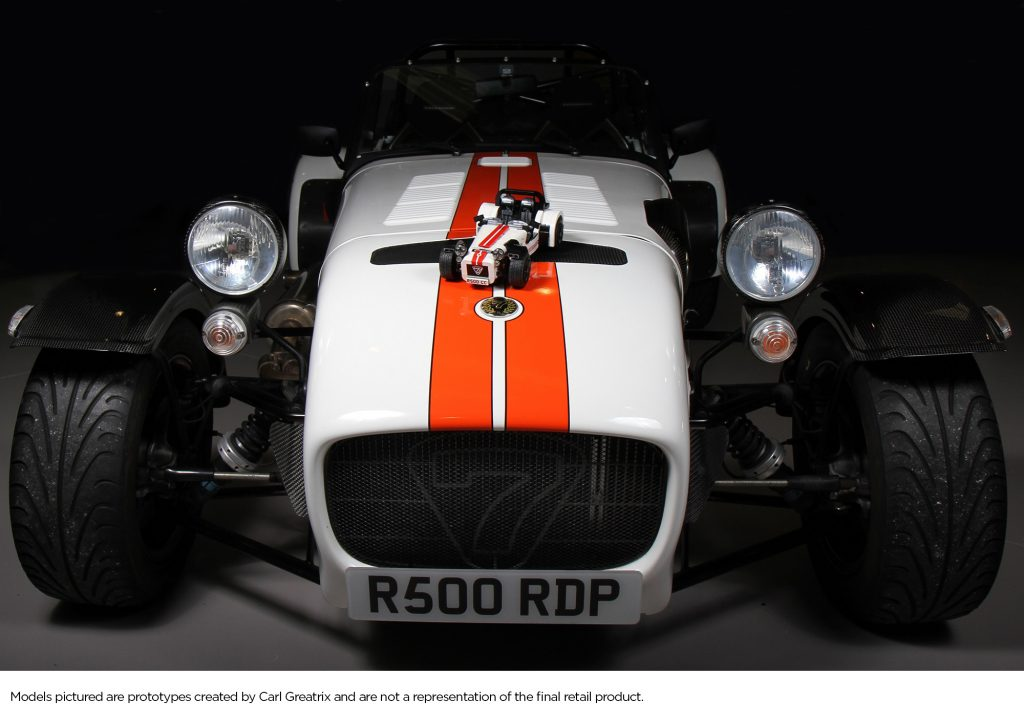 The Lego Group To Produce Caterham Seven Set