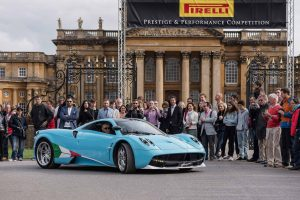Salon Prive 2015 - Pagani Huayra outside Pirelli Prestige and Performance Competition - Max Earey