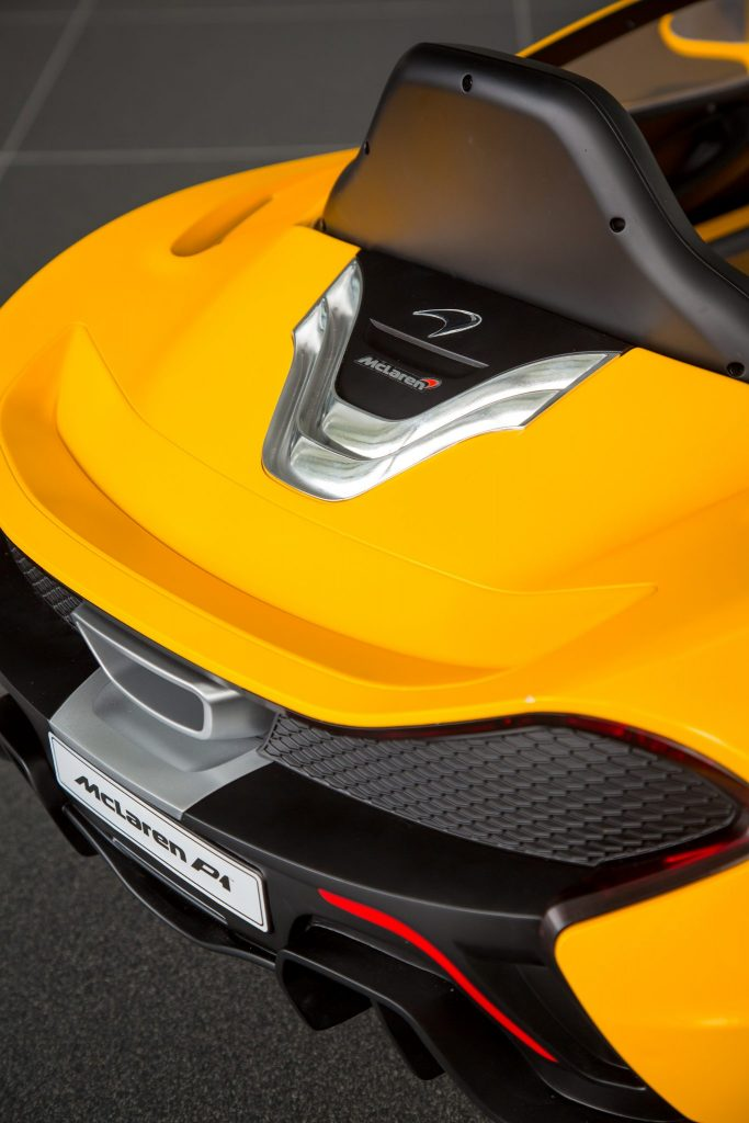 The Latest Mclaren P1™ Is Pure Electric