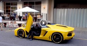 Valet Doesn't Fit In Lamborghini Aventador Roadster