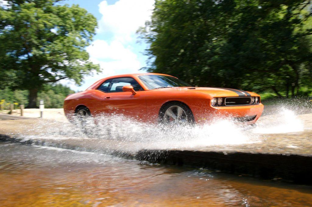 Dodge Challenger Not the Hellcat