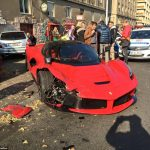 LaFerrari Owner Crashes Hyper Car Moments after Leaving Dealership in Hungary