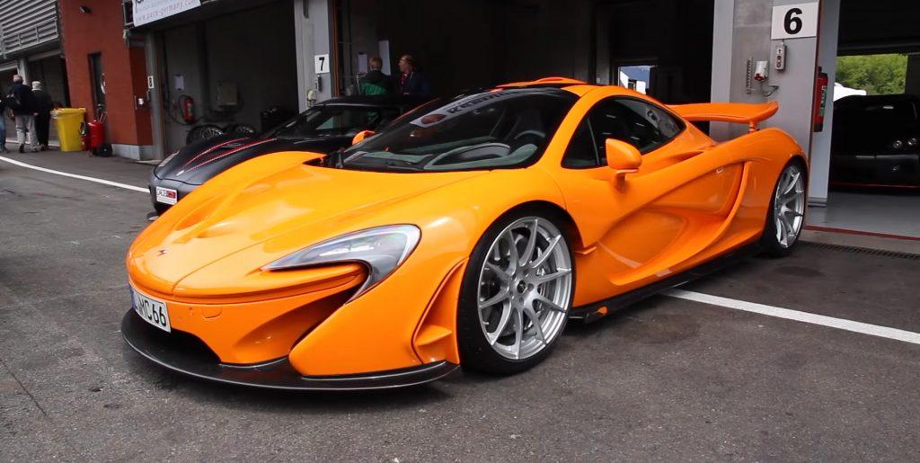 McLaren P1 Orange