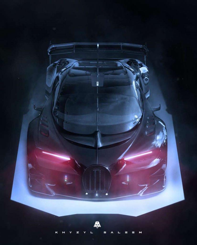 Darth Vader Bugatti Concept  By Khyzyl Saleem
