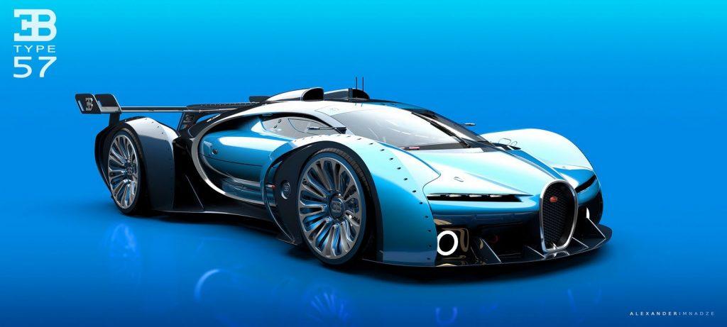 Bugatti Type 57GT Concept  By Alex Imnadze