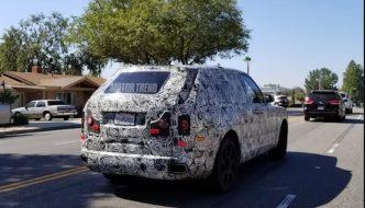Rolls-Royce Cullinan Spotted!