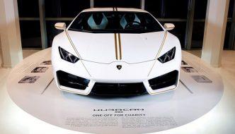 Pope's Lamborghini Huracan Sold!