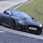 Aston Martin Vanquish Superleggera Spied