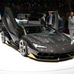 Lamborghini Centenario Recalled for Weight Sticker