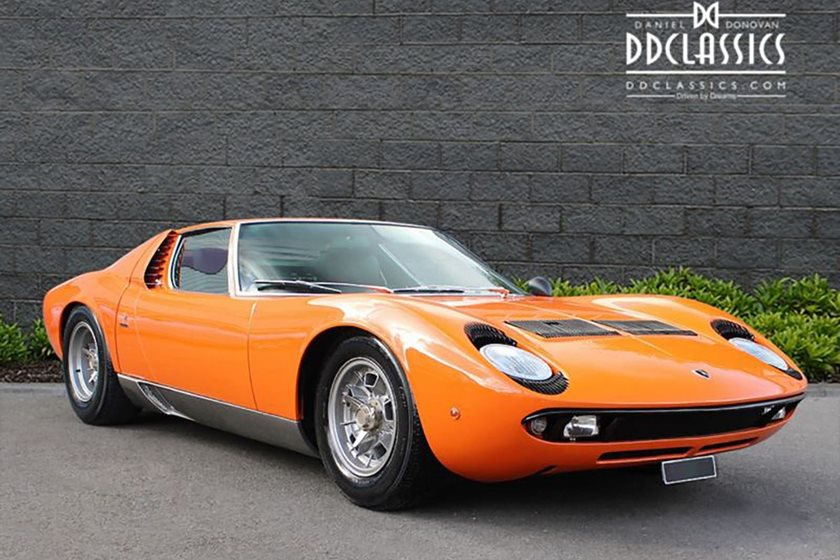 pristine lamborghini miura s for sale - bhp cars - performance