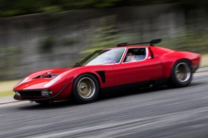 One-off Lamborghini Miura SVR Caught in Japan