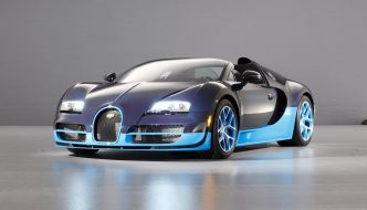 Bugatti Vitesse Donuts